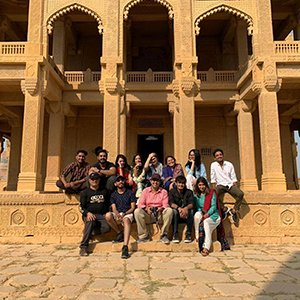 Photojournalism students - Trip to Interior Sindh